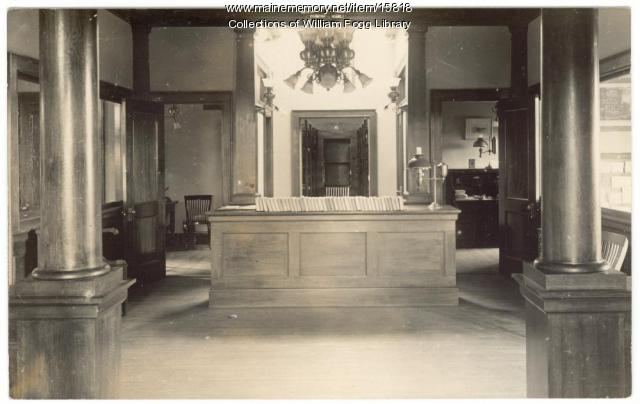 William Fogg Library, Eliot, 1907