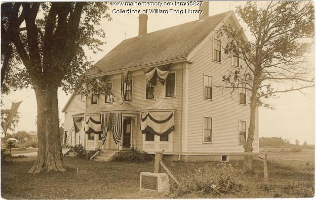 Andrew Leighton Home, Eliot, 1910