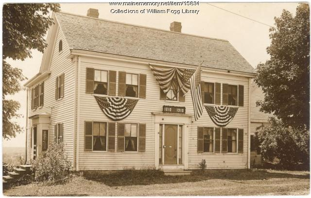 Drake House, Eliot, 1910
