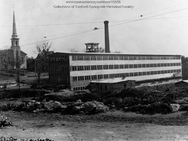 Preston B. Keith Shoe Factory, Springvale