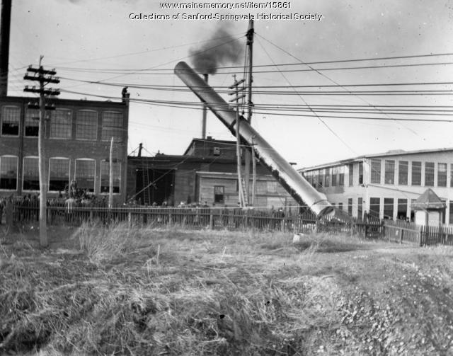 Goodall Worsted Company, High St., Sanford