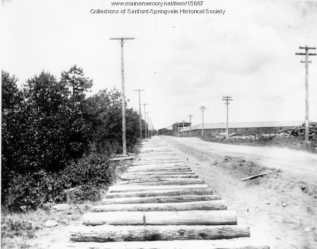 Laying Trolley Tracks, Sanford