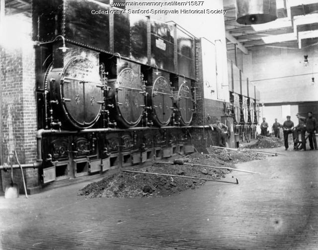 Sanford Mills Boiler Room