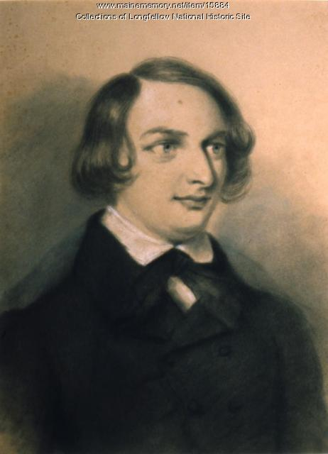 Henry Wadsworth Longfellow by Franquinet, 1839