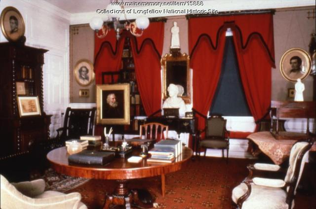 The study at the Vassall-Craigie-Longfellow House