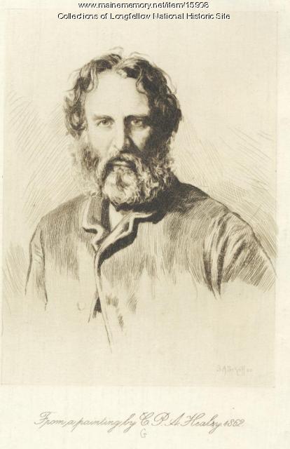 Portrait of Henry Wadsworth Longfellow, 1862
