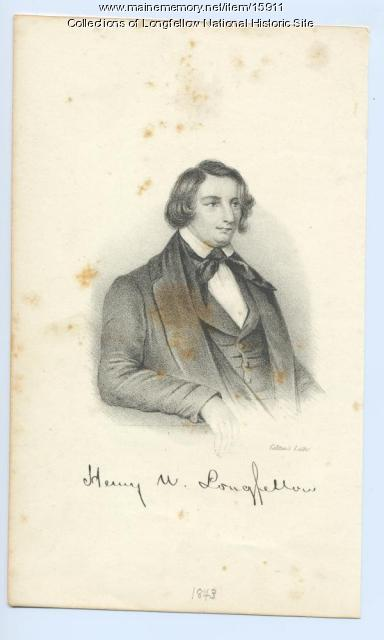 Henry Wadsworth Longfellow, 1843