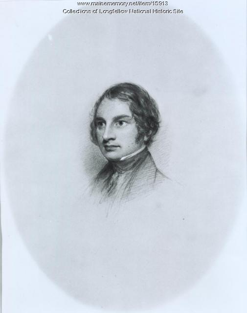 Sketch of Henry Wadsworth Longfellow, 1844