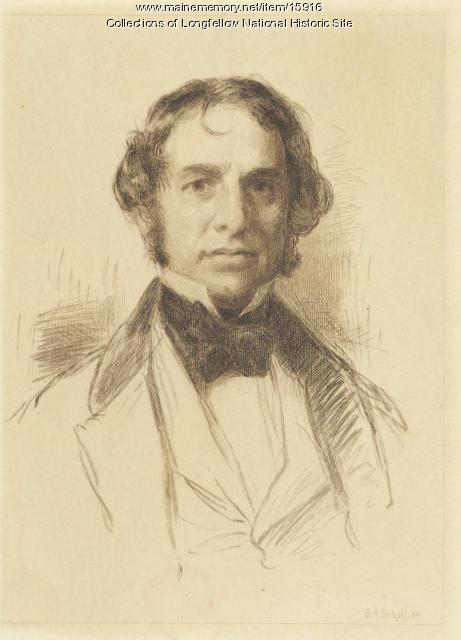 Portrait of Henry Wadsworth Longfellow