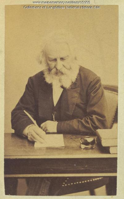 Henry Wadsworth Longfellow, Cambridge, ca. 1872
