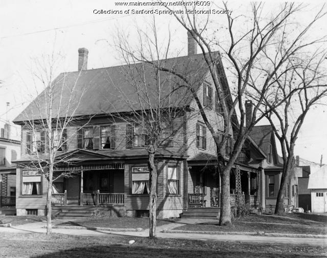 The Bodwell Home, School Street, Sanford