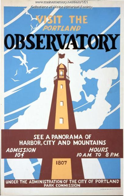Portland Observatory Poster