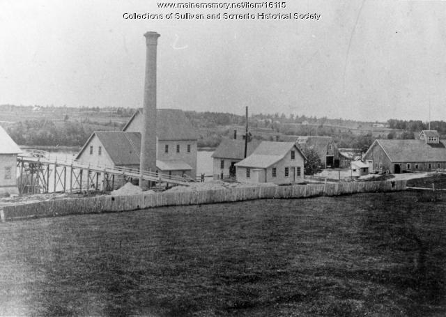 Sullivan Waukeag Mine Buildings