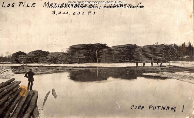Mattawamkeag Lumber Company, c. 1900