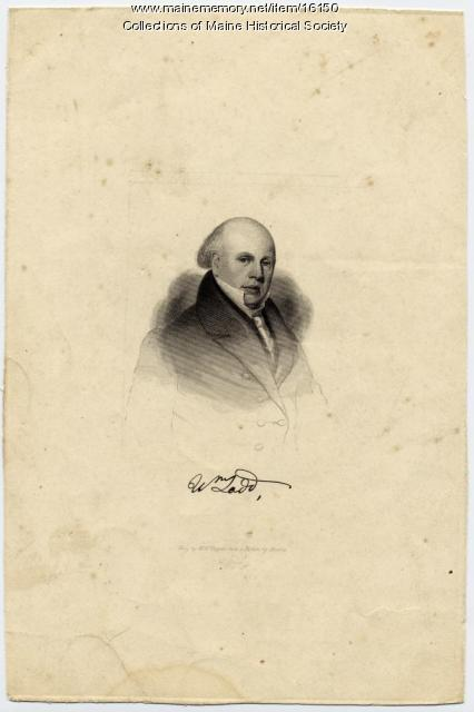 William Ladd, Minot, ca. 1830