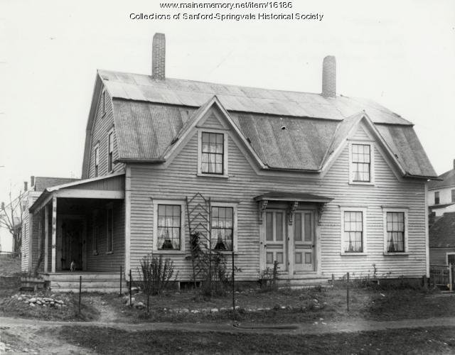 6 Bodwell Street, Sanford, ca. 1905