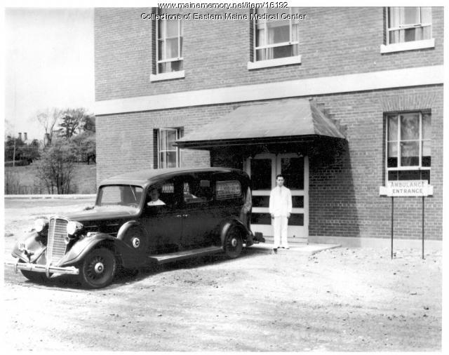 Bangor Ambulance Circa 1942