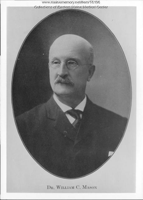 Dr. Willam Castein Mason, Bangor, ca. 1920