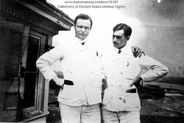 Doctors, Eastern Maine General Hospital, Bangor, ca. 1900