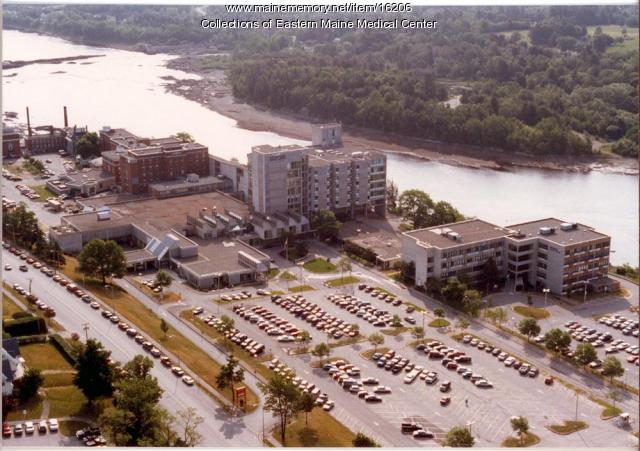 Eastern Maine Medical Center and Penobscot River - Maine