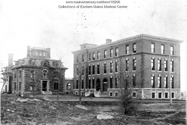 Eastern Maine General Hospital, Bangor, ca. 1899