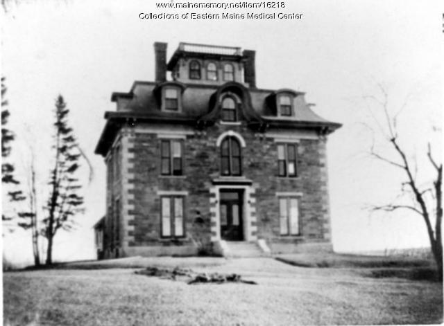 Mace Homestead, Bangor, circa 1861
