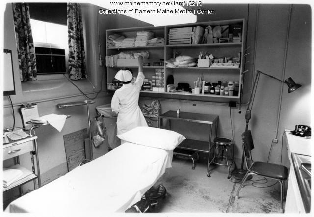 Minor Surgical Area at Eastern Maine Medical Center circa 1970