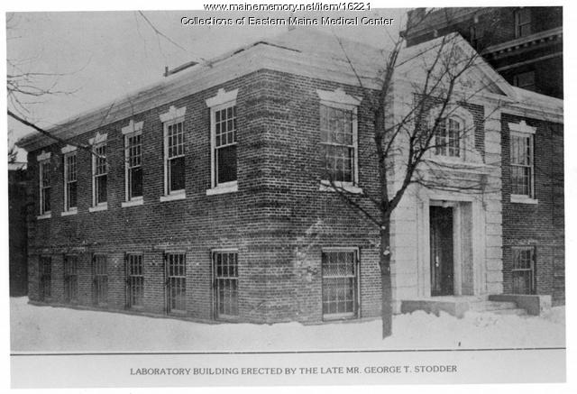 Stodder Laboratory, Eastern Maine General Hospital, ca. 1923