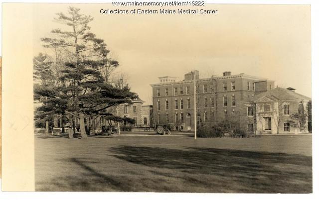 Eastern Maine General Hospital, Bangor, ca. 1925