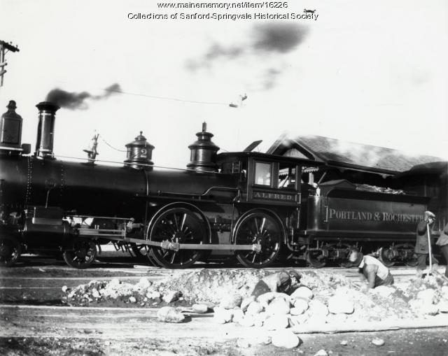 Locomotive, Springvale ca 1890