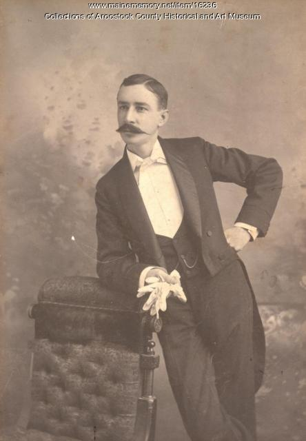 Harry M. Briggs, Houlton, ca. 1920