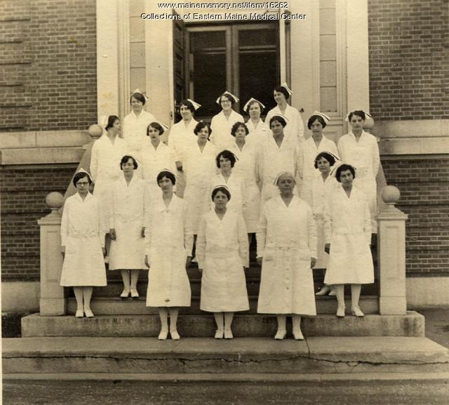 Nurses, Eastern Maine General Hospital, ca. 1943