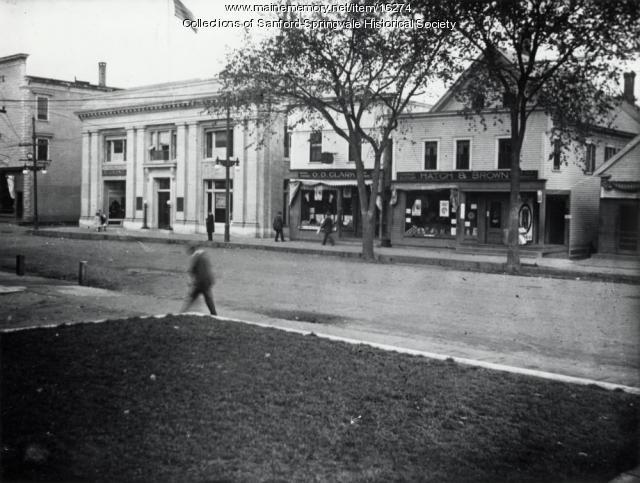 Main Street, Sanford, ca. 1914