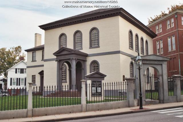 Exterior of the Touro Synagogue