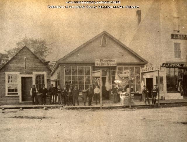 Boston Store, Houlton, ca. 1900