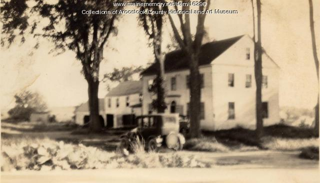 Cary House, Military St., Houlton, ca. 1925