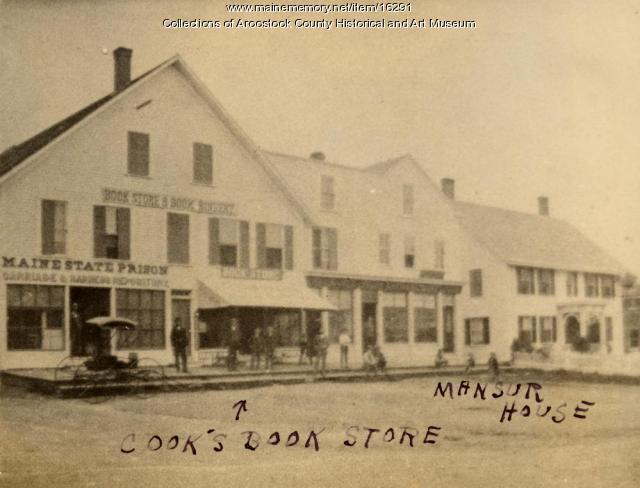Prison Store and Book Store, Houlton, ca. 1895