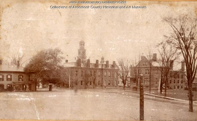 Houlton Court House and County Jail, c. 1900