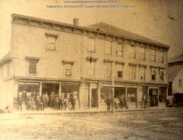 A. H. Fogg Company Block, Houlton, c. 1900