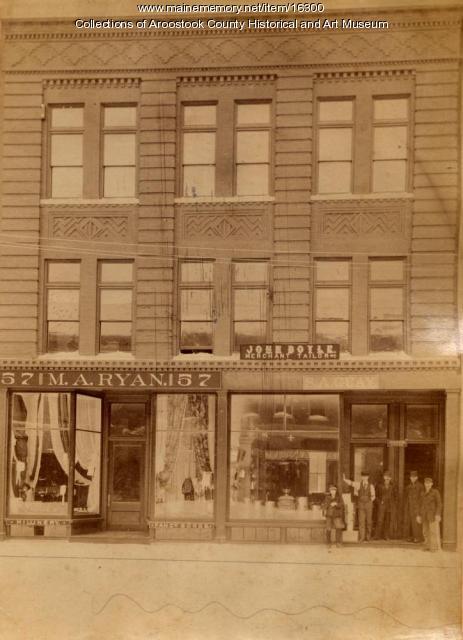Gray Block, Houlton, ca. 1894