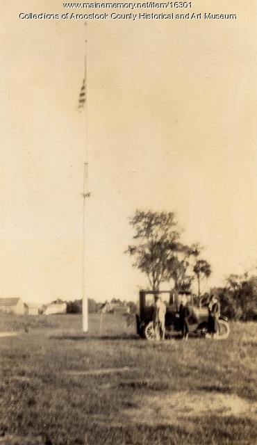 Hancock Barracks site, Houlton, ca. 1920