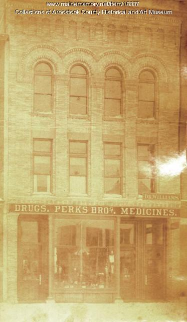 Perks Brothers Building, Houlton, 1894