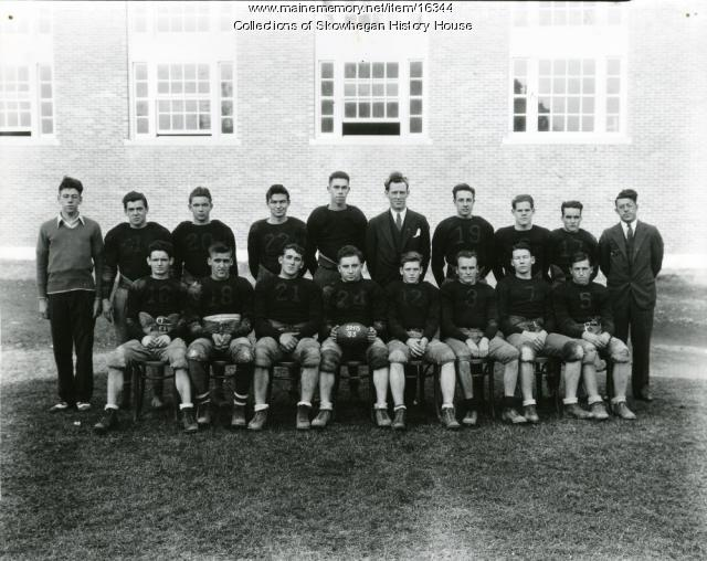 Skowhegan Football Team, 1933