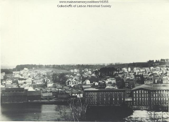 Lisbon Falls After the Great Fire of 1901