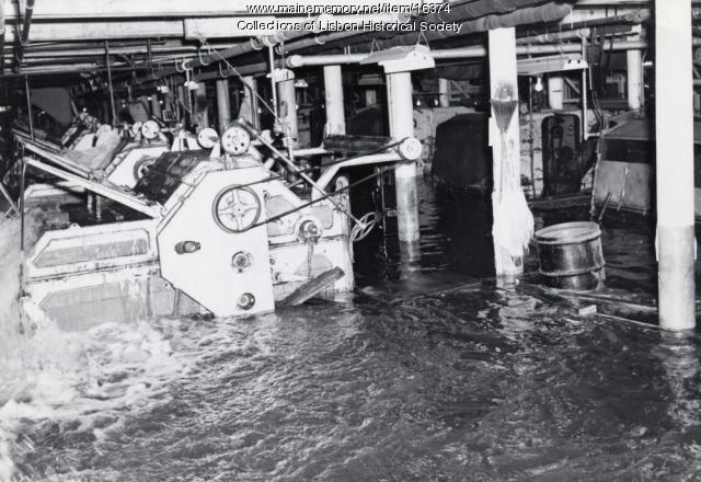 Flooding of the Worumbo Mill, Lisbon Falls, 1936