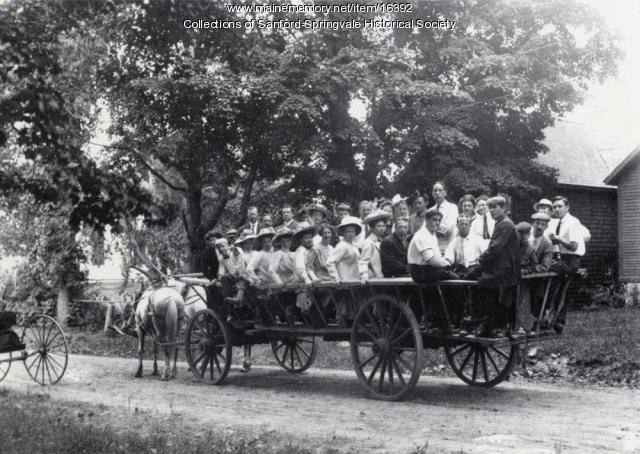 Excursion By Horse-Drawn Wagon, Sanford