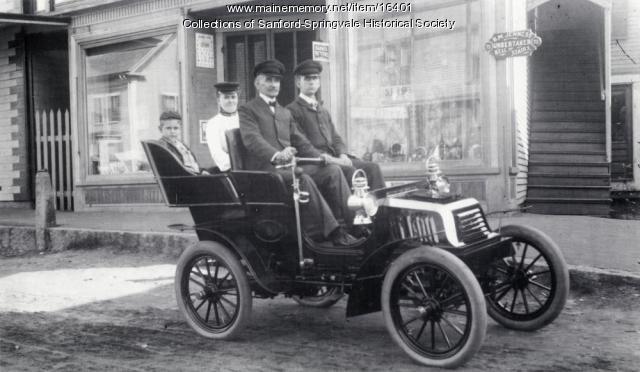 Benjamin M. Jenness and Family, Springvale, 1903