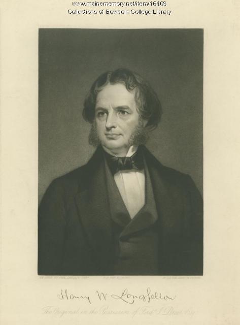 Henry W. Longfellow, ca. 1854
