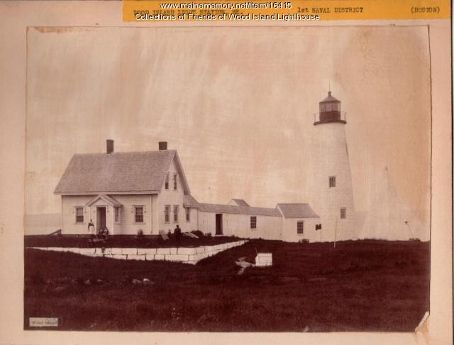 Wood Island Light Station, Biddeford, ca. 1886