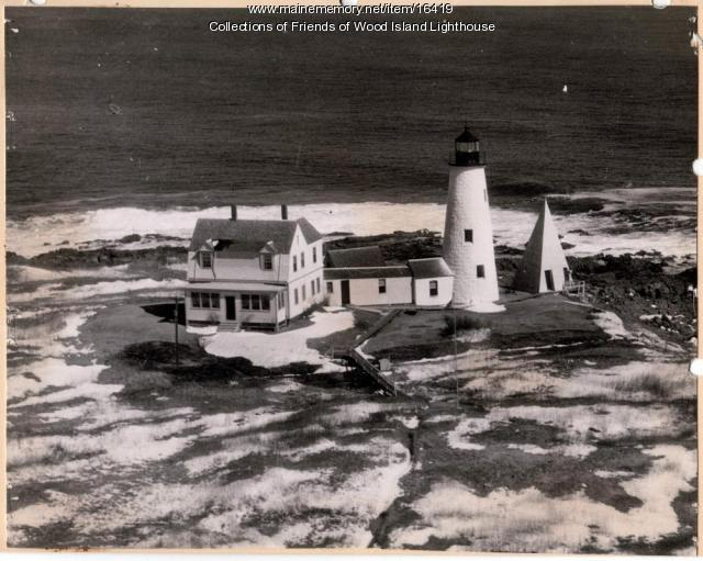 Wood Island Lighthouse, Biddeford, 1944